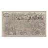 Mappa Italia di Matteo Greuter 104x57 cm in Tela Antica
