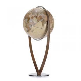 Vertigo – Mappamondo design da terra