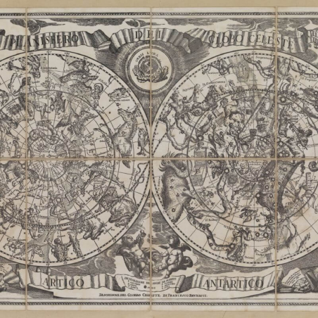 Planisphere of the Celestial Globe