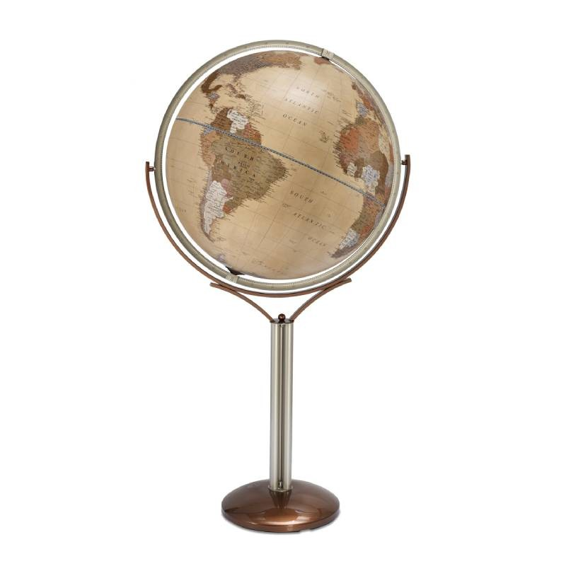 """Omega Natural"" Floor globe with political cartography"