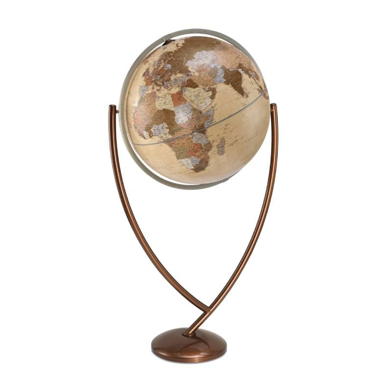 """Vega Natural"" Floor-standing Design Globe"