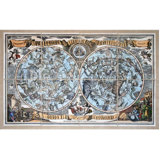 Planisphère du globe céleste