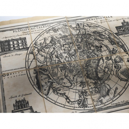 Southern and Northern Celestial Planisphere